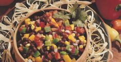 This fresh salad has it all: black beans, corn, peppers, lime, garlic, red onion and cilantro. And it's dairy-free and gluten-free! Delicious for all.