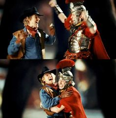 Owen Wilson and Steve Coogan - Night at the Museum