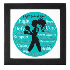 This is a picture that we should ALL have. #FightLikeAGirl #PCOS #PCOSAwareness ......I love this