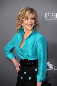 jane fonda outfits best outfits - Page 33 of 100 - Celebrity Style and Fashion Trends Over 60 Fashion, Fashion Over 50, Fashion Tips, Fashion Women, Fashion Models, Fashion Trends, Jane Fonda, Celebrity Outfits, Celebrity Style