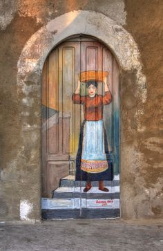 #Doors from around the world ideas for your renovation project - Amantea, Cosenza, Italy door.. http://www.myrenovationmagazine.com