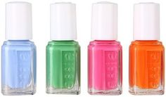 nail polish - ShopStyle: Essie Summer Nail Polish Collection 4 Piece Cube (Multi) - Beauty