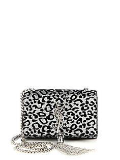 Saint Laurent Saint Laurent Leopard Monogramme Shoulder Bag $1850