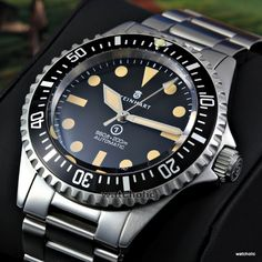 Steinhart Ocean Vintage Military (OVM) ETA Auto Men's Watch