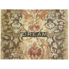 Dream Art - yep have this in my living room with 2 other pieces (the Believe piece and an iron flower).