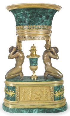 An Important Russian Malachite Center Table (1880 - 1900 ...