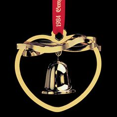 GeolinOnline.com :: GJ 3410184 Christmas Ornament 1984, Bell