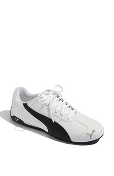 Puma totally reminds me of the shoes I wore as a child to play soccer. Oh, and they are currently on sale at Nordstroms. : )