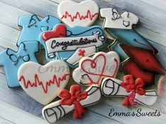 Nurse Graduate Cookies by Emma's Sweets | Cookie Connection