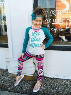 Lil Hot Mess. Tween fashion  www.facebook.com/shopsugarnspice