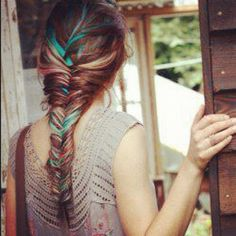 I love this look in Braids