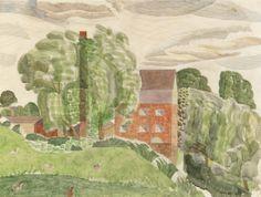 Edward Bawden - Bullford Mill near Black Notley, Essex