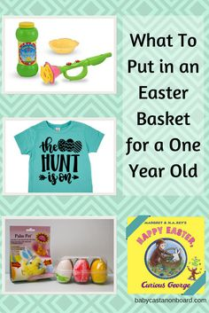 The best easter basket ideas for 1 year old boys easter baskets what to put in a one year olds easter basket negle Image collections