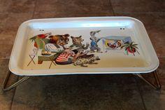 Vintage TV Tray Vintage Tv Trays, Lap Tray, Auction, Nostalgia, Google Search, Illustration, Illustrations