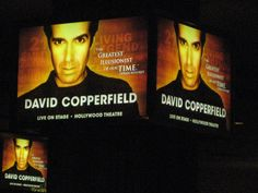 David Copperfield Show @ Hollywood Theater, MGM Grand - Las Vegas - 19/04/2012 JUST FABULOUS !!!
