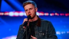 Mark's emotional tribute to brother leaves audience in tears Britain Got Talent, Beautiful Songs, The Voice, Brother, Dads, Leaves, Fictional Characters, Les Miserables, Fathers