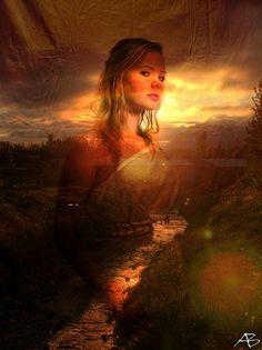 Hemera, primeval goddess of daylight and the sun.