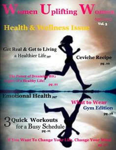 Take a look at WUW April 2012, Vol. 3 Issue of Women Uplifting Women E-Magazine.  Fabulous!  http://snack.to/fz1jsktr