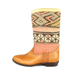 There are a few items i own or wish I owned that are truly one-of-a-kind and to be treasured and worn with pride. These boots would be one of those items. LOVE!    Lee Ann Round Toe boot, by Kiboots