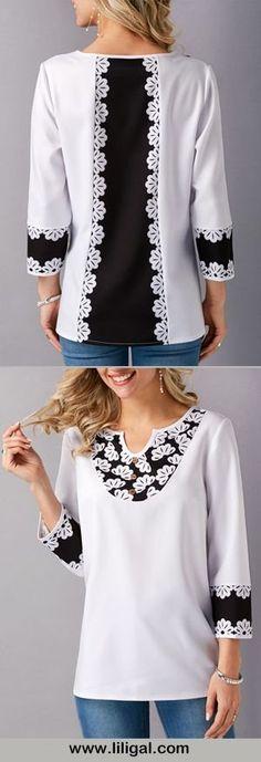 61 ideas for sewing clothes tunics blouses Hijab Fashion, Diy Fashion, Fashion Dresses, Womens Fashion, Fashion Design, Sewing Clothes, Diy Clothes, Clothes For Women, Mode Hijab