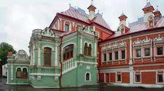 Усадьбы Дворцы Родовые поместья России : Палаты Юсуповых г.Москва