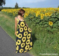 Se coudre une robe longue pour l'été | Nom d'une couture !