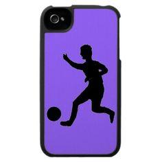 Soccer or football iPhone 4 case zazzle.com/artistjandavies*