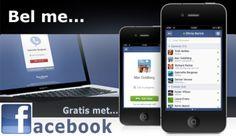 Gratis bellen via Facebook vanaf nu mogelijk | PCM