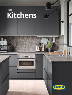 Do you know what's new products for Kitchen in the IKEA Australia (IKEA AU) ? Black Kitchen Decor, Ikea Kitchen Design, Ikea Kitchen Cabinets, Kitchen Cabinet Design, Modern Kitchen Design, Interior Design Kitchen, Grey Ikea Kitchen, Modern Ikea Kitchens, Ikea Metod Kitchen
