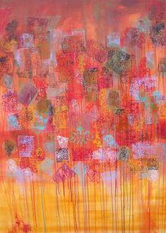 "Saatchi Art Artist Anne Mcgovern; Painting, ""Mango Tango"" #art"