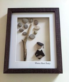 Graduation Pebble Art, by Pebble Road Studio - Well Done by PebbleRoadStudio on Etsy