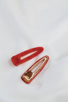 2pcs Bridesmaid Paperclip Shaped Headwear Hair Clip Hairpin Hair Metal Barrette