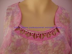 How to make different types of kurthi neck patterns - Simple Craft Ideas Chudithar Neck Designs, Chudidhar Designs, Neck Designs For Suits, Neckline Designs, Dress Neck Designs, Kurta Neck Design, Saree Blouse Neck Designs, Fancy Blouse Designs, Salwar Designs