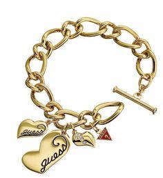 Náramok Guess So Srdiečkami Luxury Lifestyle, Casual Wear, Charmed, Bracelets, How To Wear, Jewelry, Fashion, Casual Outfits, Moda