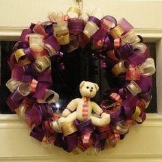 Simon's Ribbon Wreath