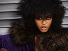 Natural Hair fashion | ... natural hair jessi m bengue shows off her natural curly coily hair in