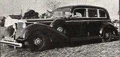 Hitler's Personal Armored 1943 Mercedes Limousine. www.midnightrunlimo.com #personalchauffeur #privatedriver #orangecountylimo