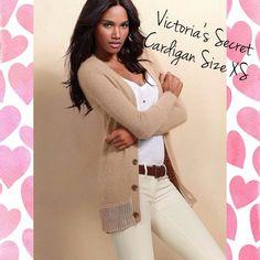 Victoria's Secret Angora cardigan sweater Victoria's Secret (by Moda international). Super comfy and cute! See pictures for condition. 59% nylon, 36% rabbit hair, 5% wool Victoria's Secret Sweaters Cardigans