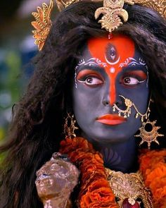 Kali Hindu, Kali Mata, Mahakal Shiva, Hindu Art, Indian Goddess Kali, Durga Goddess, Indian Gods, Durga Maa, Maa Kali Images
