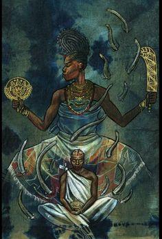 ORE YEYE Oshun by Stephen Hamilton