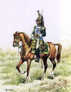 Imperial Guard, Empress Dragoon regiment, Colonel Ornano