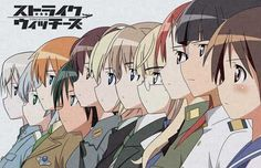 Strike Witches 11x17 Movie Poster (2008)
