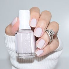 Essie Bridal Collection - Hubby for Dessert ~ we ❤ this! moncheribridals.com #weddingnails