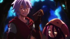 Screenshots from the third trailer of anime movie No Game No Life Zero | MANGA.TOKYO