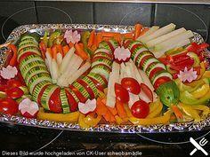 Gurkenschlange im Gemüsebeet (Rezept mit Bild) von heike50374   Chefkoch.de