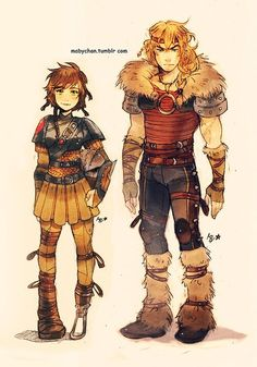 disney hiccup | mabychan, genderbent Astrid and Hiccup