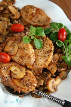 Pork Recipes, Cooking Recipes, Chicken Cordon Bleu, Polish Recipes, Aesthetic Food, Food Videos, Clean Eating, Food And Drink, Tasty