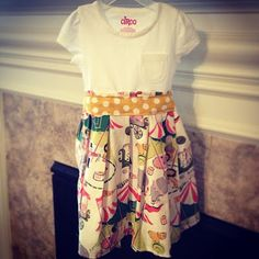 cute tshirt dresses & other simple sewing ideas