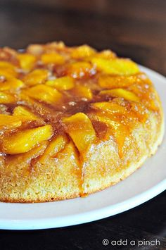 Upside Down Cakes are such simple and classic desserts. Get this recipe for a beautiful nectarine upside down cake that you are sure to love.