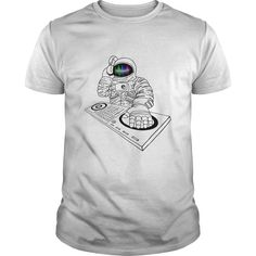 """astronaut DJ  Show your """"space"""" on your body with amazing space T-shirts from our collection .   Great gift ideas for teen boys, kids and men .  Cool space men Tee designs for everyday casual wear.   #space #spaceship #astronaut #galaxy #spacegraphictee #DJ  #graphictee #men #kid #spacecat #cat #nasa #cool #humor #funny #Boys   #plussize #sunfrog #giftideas #Alien #planet #solar #gift #Lisaliza #Sunfrog"""